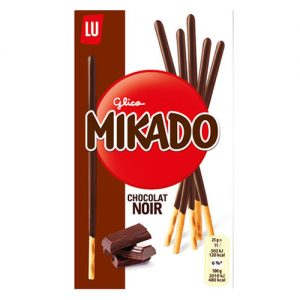 LU Mikado Dark Chocolate Coated Sticks 75G