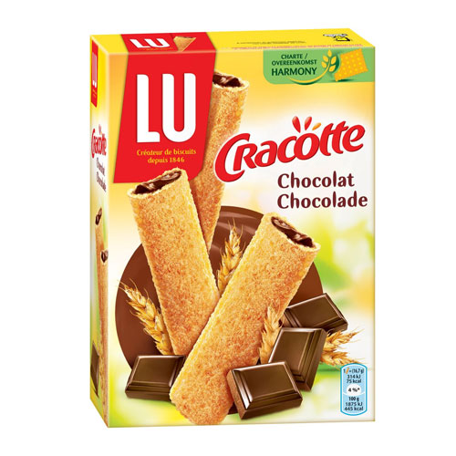 LU Cracotte Craquinette Chocolate Dry Bread 200G