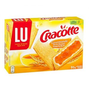 LU Cracotte Gourmande Dry Bread 250G