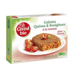 CEREAL BIO ORGANIC Tomato and quinoa steaks