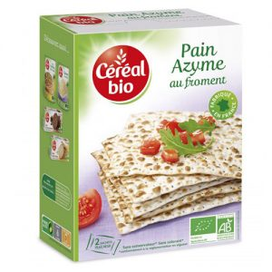 CEREAL BIO ORGANIC Unleavened wheat bread