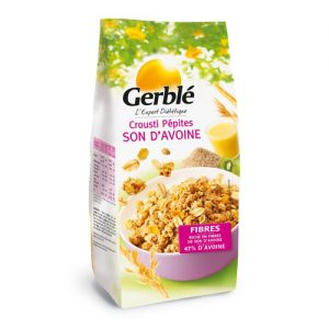 GERBLE Crispy chips of oat bran