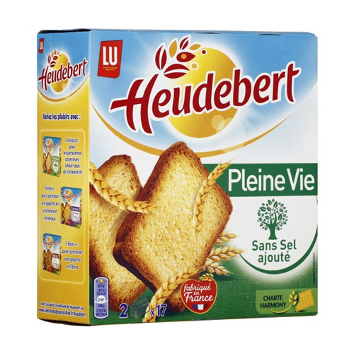 LU Heudebert Unsalted Rusks (34S) 300G