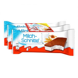 KINDER SLICED MILK 3X28 GM