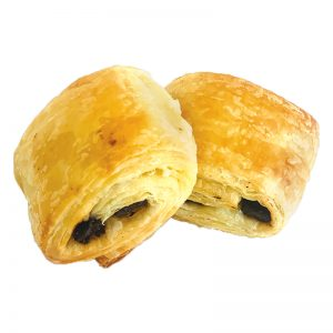 FRESHLY BAKED MINI PAIN AU CHOCOLATE 4X30 GM