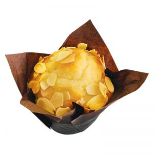 FRESHLY BAKED ALMOND MUFFIN 80 GM