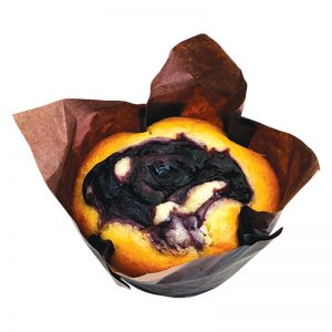 FRESHLY BAKED BLUEBERRY MUFFIN 80 GM