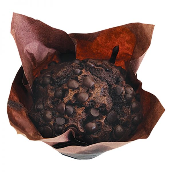 FRESHLY BAKED CHOCOLATE MUFFIN 80 GM